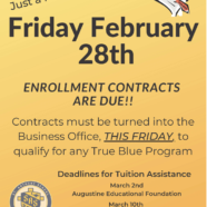 contracts due