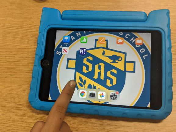 new SAS ipad